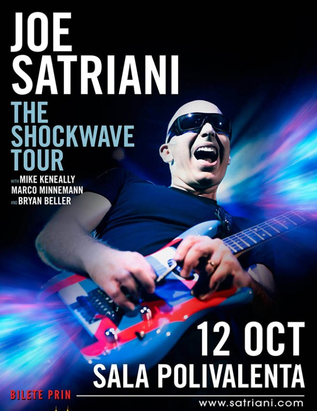 Joe Satriani, The Shockwave Tour