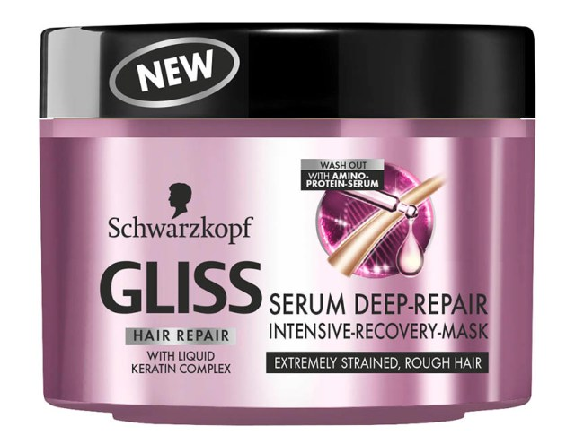 GLISS Serum Deep Repair, mască de păr