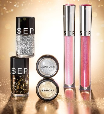 Sephora Xmas Collection, colecţie Glitter