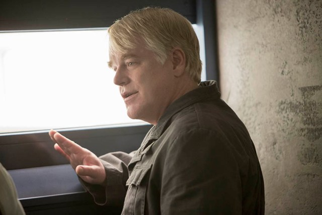 Plutarch Heavensbee (Philip Seymour Hoffman)
