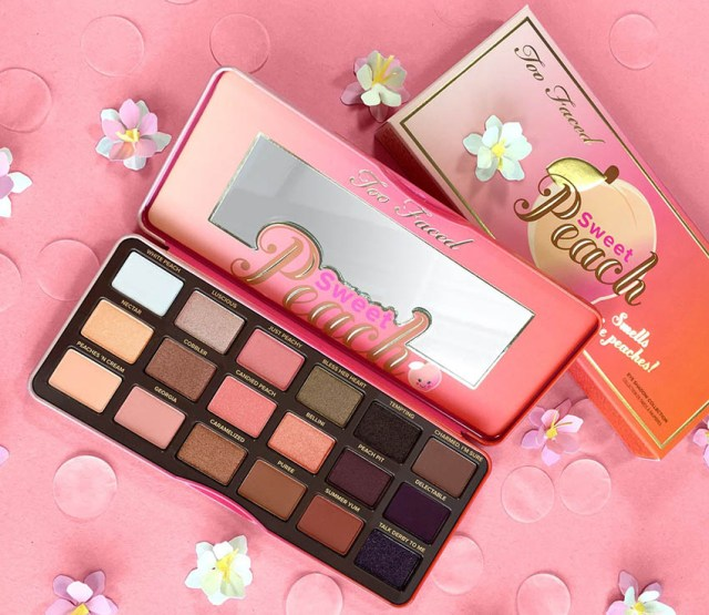 Too Faced, paletă Sweet Peach