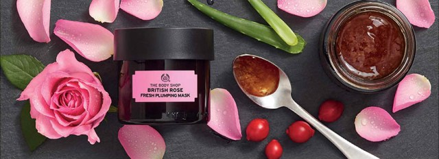 The Body Shop, British Rose