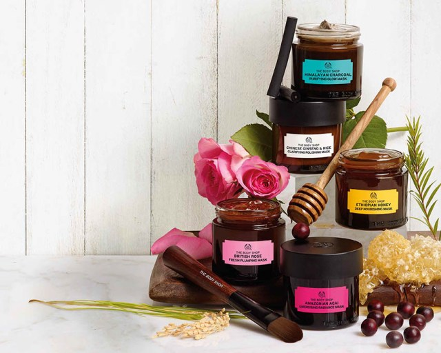 The Body Shop, Superfoods Masks