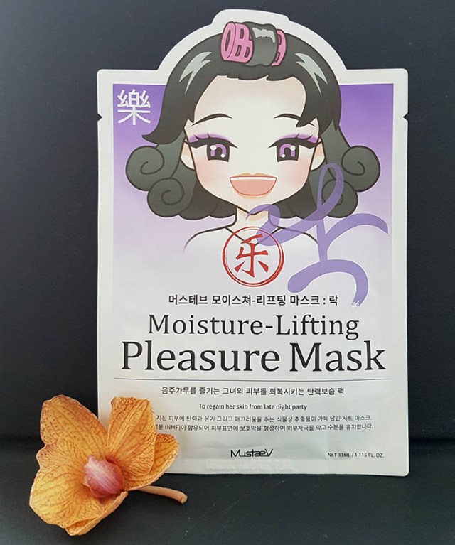MustaeV Mood Therapy Moisture Lifting Pleasure Mask