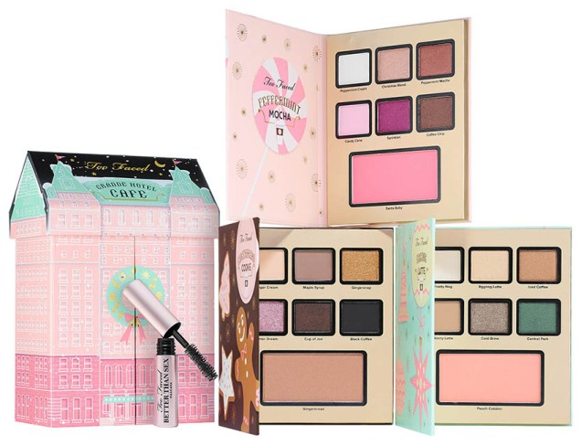 Too Faced Grand Hotel Cafe, full set