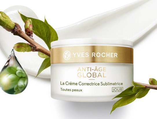 #noula... Yves Rocher: Anti-Âge GLOBAL
