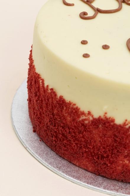 Buy Red Velvet Wedding Cake Online From Lolas Cupcakes