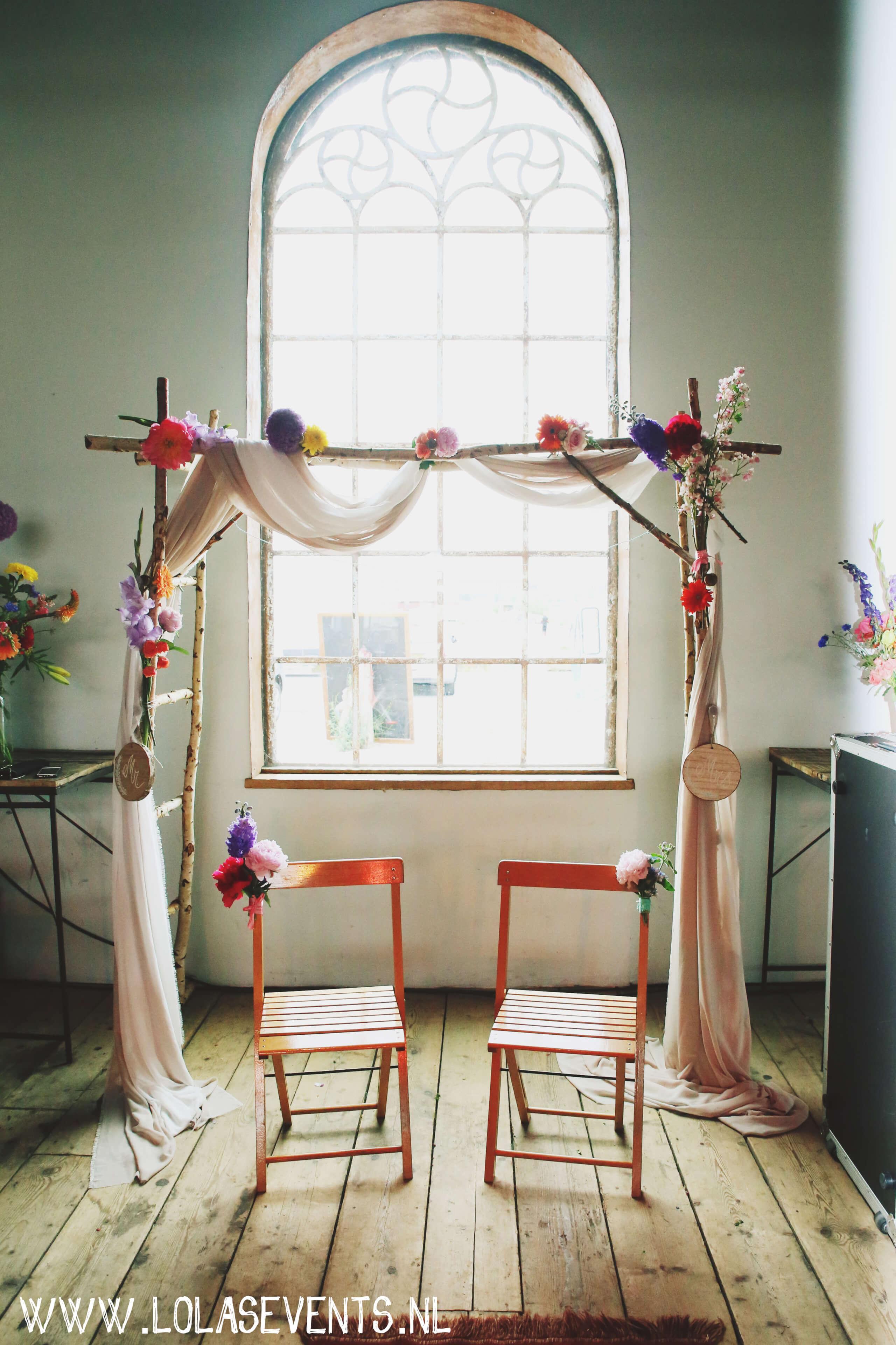 bruiloftstyling