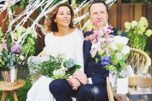 Bohemian bruiloft Jo & Rob