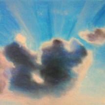 Adulte-Etude des nuages-Pastel sec