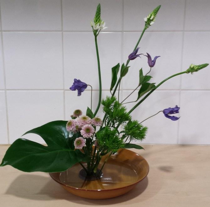 Jiyuka ou Ikebana style libre
