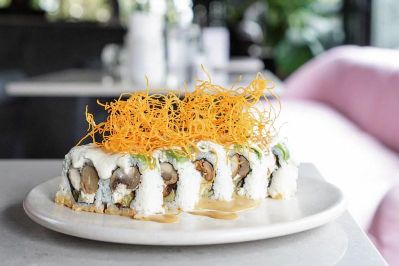 Sushi Uramaki Crispy de Mudrá