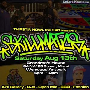 Skillmatics - August 13, 2016 - Wynwood Artwalk