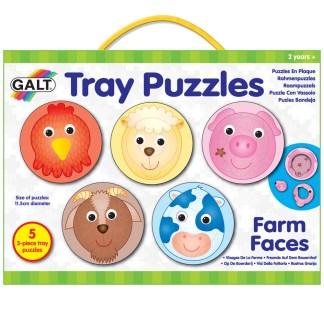 Tray Puzzles Farm Faces
