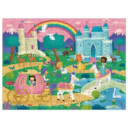 100 Piece Puzzle - Princesses