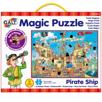 Pirate Ship Magic Puzzle