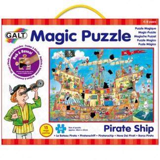 Pirate Ship Magic Puzzle