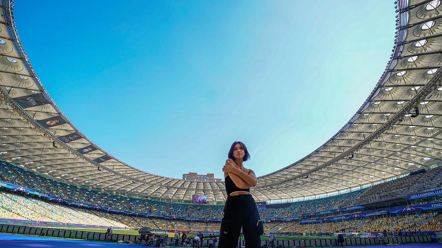 Dua Lipa cantará en la final de la Champions League