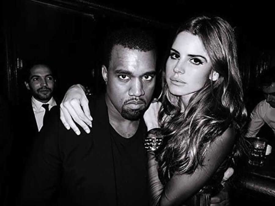 Lana del Rey y Kanye West