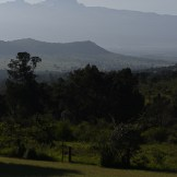 Mount Kenya from Lolldaiga Hills Ranch by Matthew Simpson