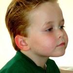 Boy haircut Calabasas California