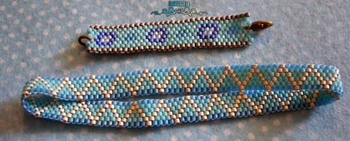 Bracelets peyote