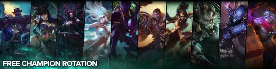 NEW WEEK, NEW CHAMPION ROTATION!