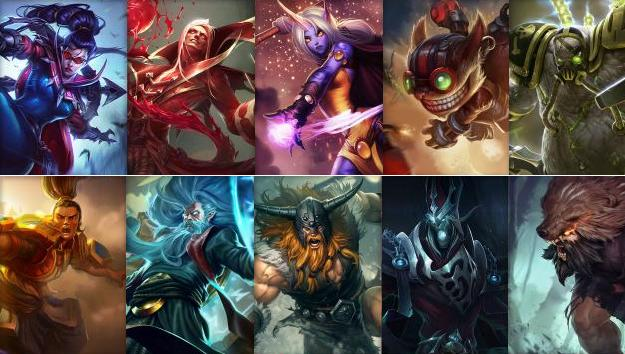 NEW TUESDAY, NEW WEEKLY CHAMPION ROTATION!