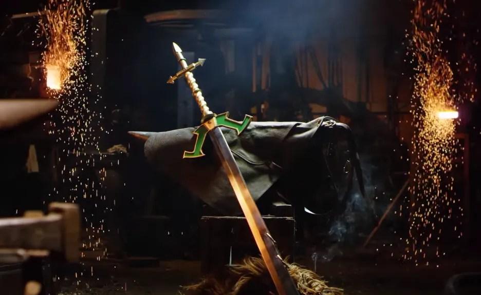 Master Yi's Real Life Sword