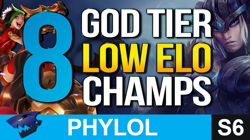 6 god tier low elo champs