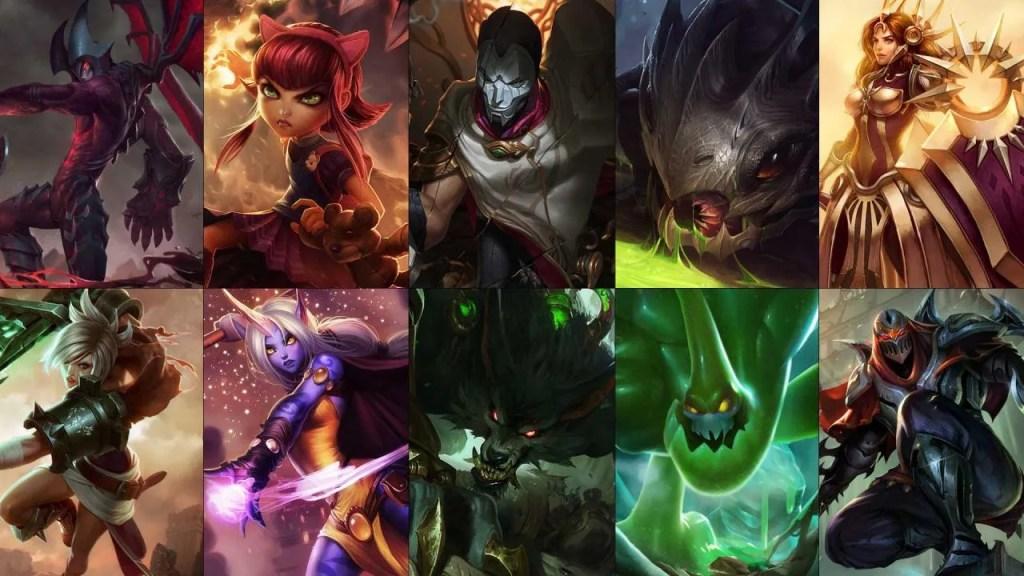 New free champion rotation: Jhin, Riven, Zac and more!