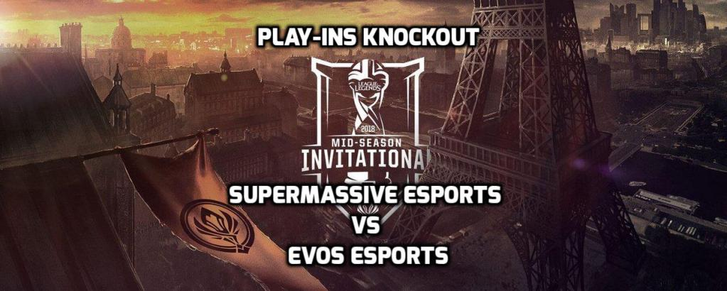 MSI Play-Ins Knockouts: EVOS annihilates SuperMassive and proceeds to the Main Event