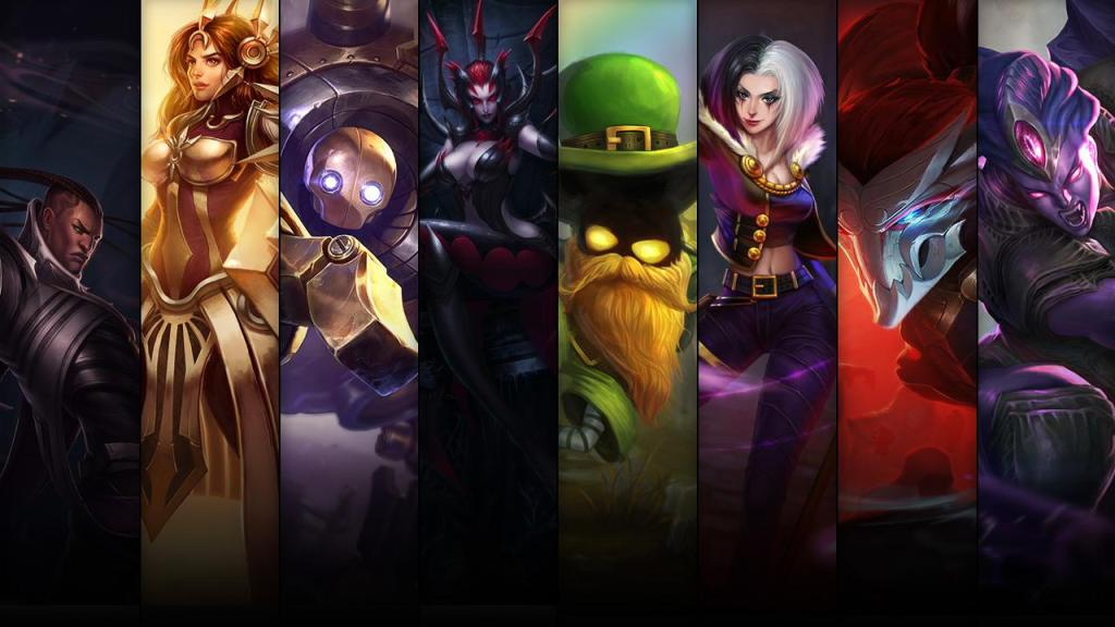 Champion and Skin Sale 06.05
