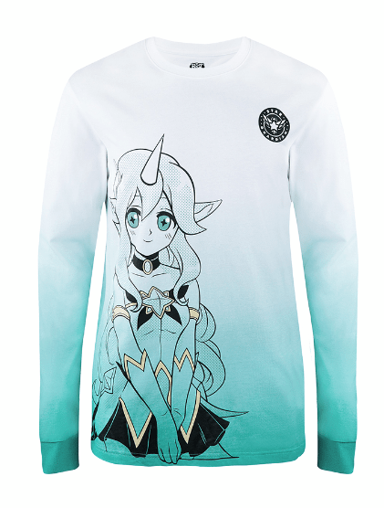 STAR GUARDIAN SORAKA LONG SLEEVE TEE (UNISEX)