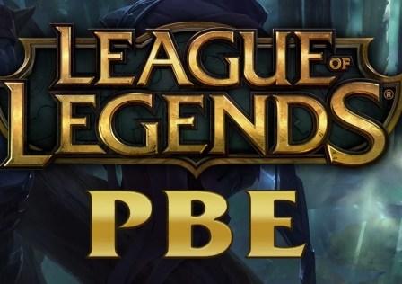 League of Legends PBE