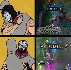 League of Legends Memes – Jhin is Four