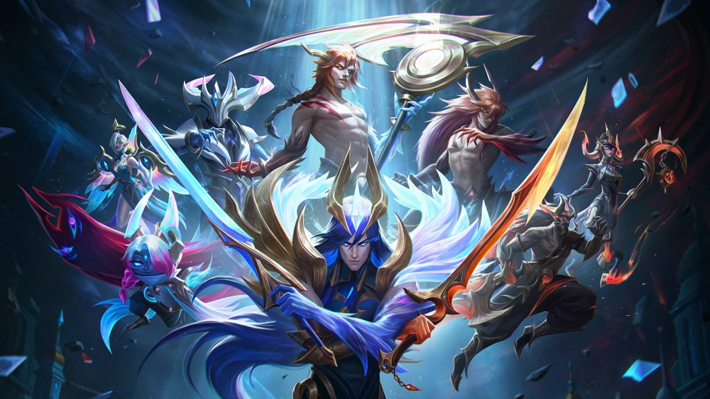Severing Fate Night and Dawn skins