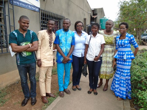 Cross-section of participants at the Reflectors Book Fest