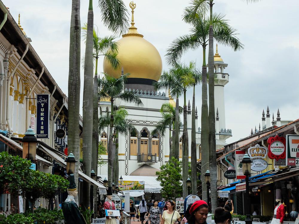 La mosquée du quartier