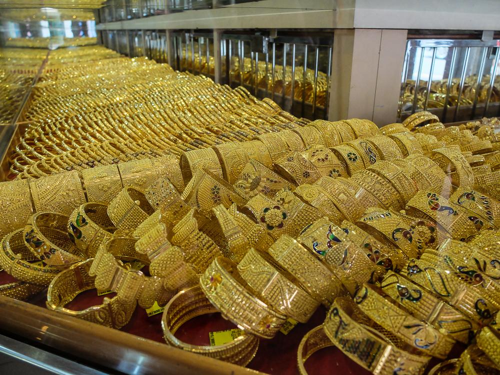 Les bijoux en or - Little India