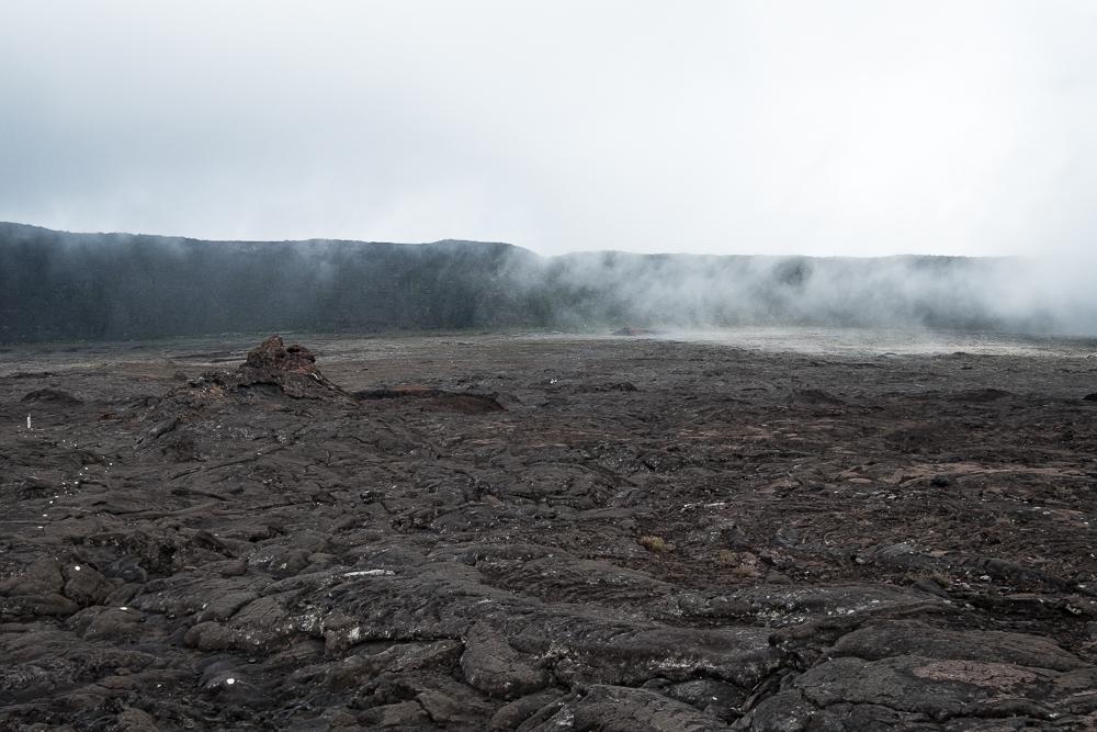 La brume arrive dans l'enclos Fouqué