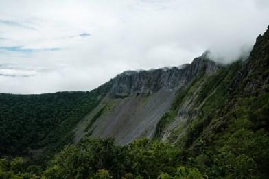 La caldeira du Mont Mashu