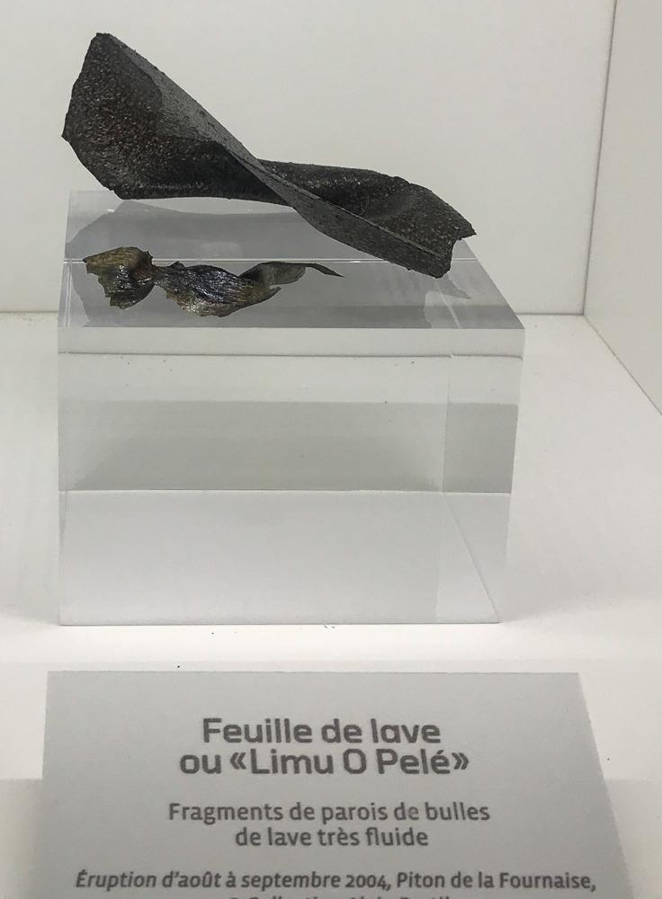 Type de lave - Cité du Volcan