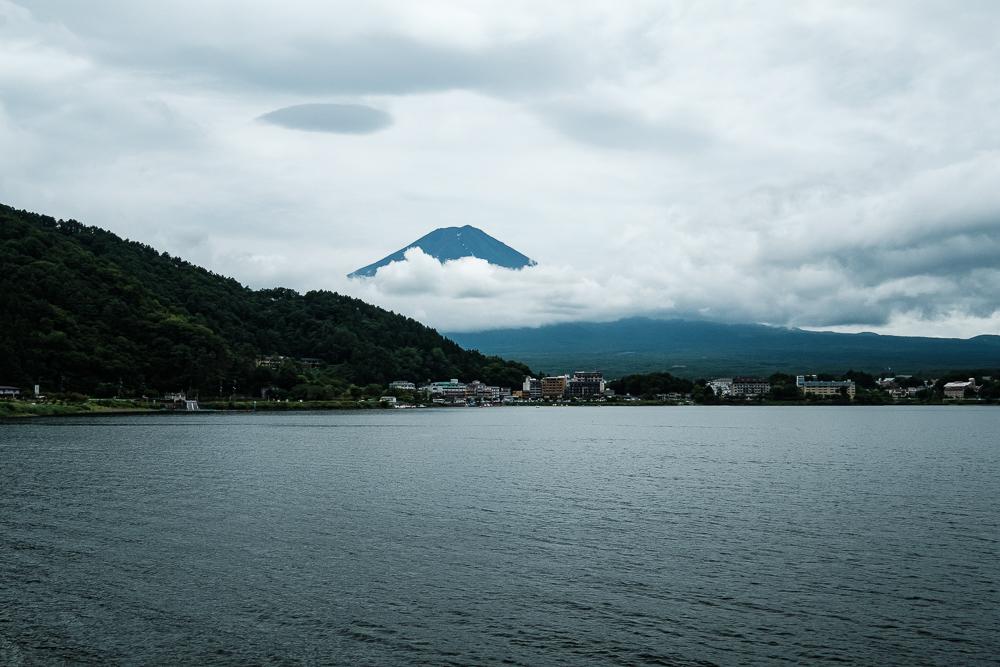Vue sur le Mont Fuji du Lac Kawaguchi