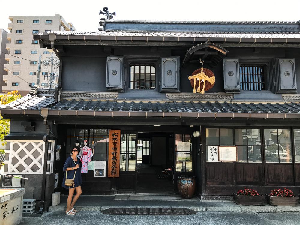 La rue Nakamachi - ancienne brasserie de saké