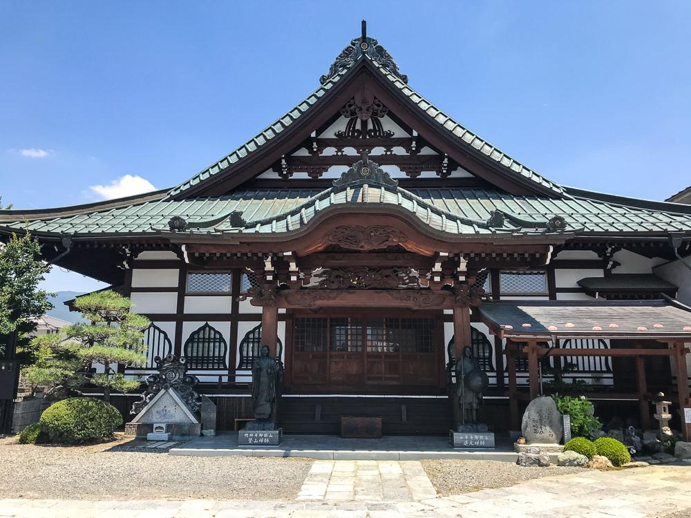 Sanctuaire shinto dans Matsumoto