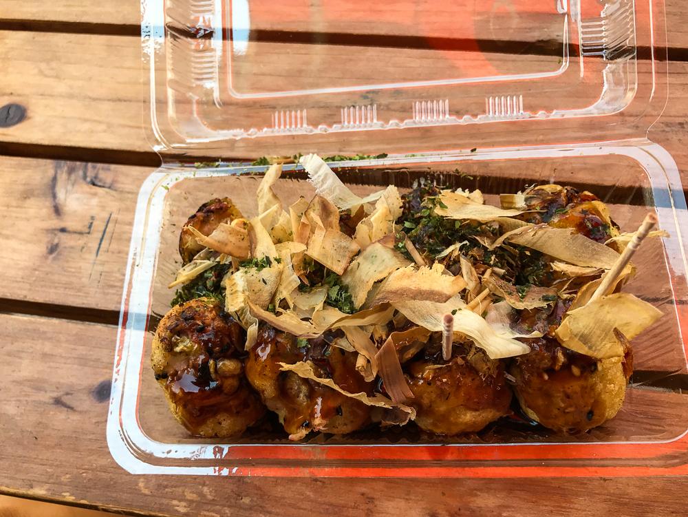 Le Takoyaki, très bon !