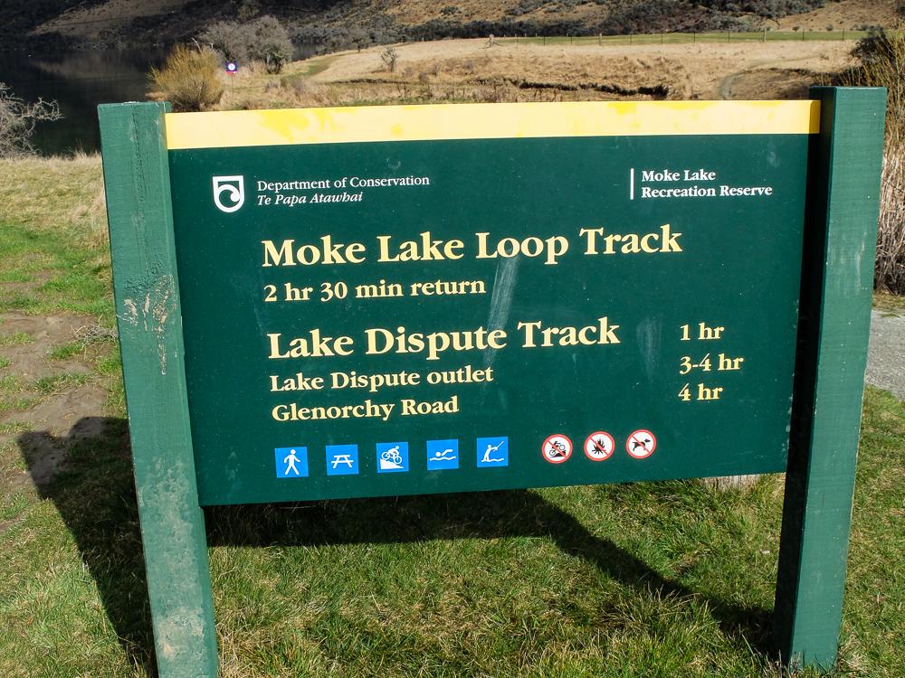 Sentiers des Lacs Moke et Dispute