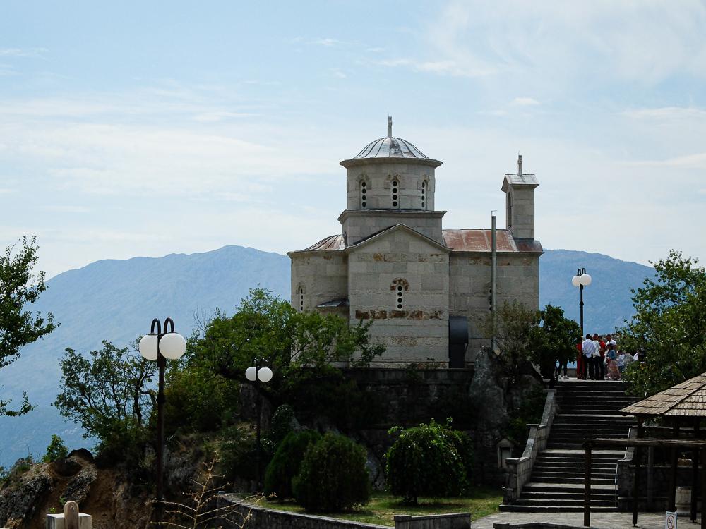 Eglise de Saint Stanko le Martyr sur le chemin vers le monastère supérieur