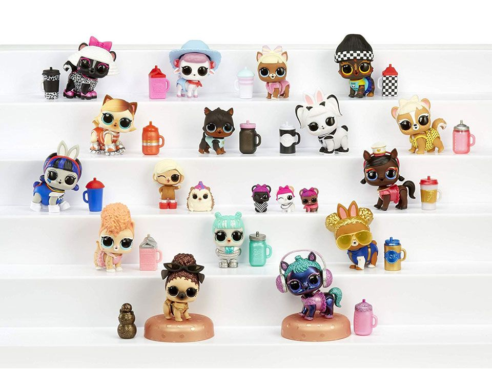 Makeover Fuzzy Pets Colección